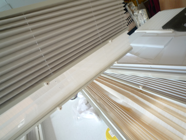 Dirty Yellow Blinds