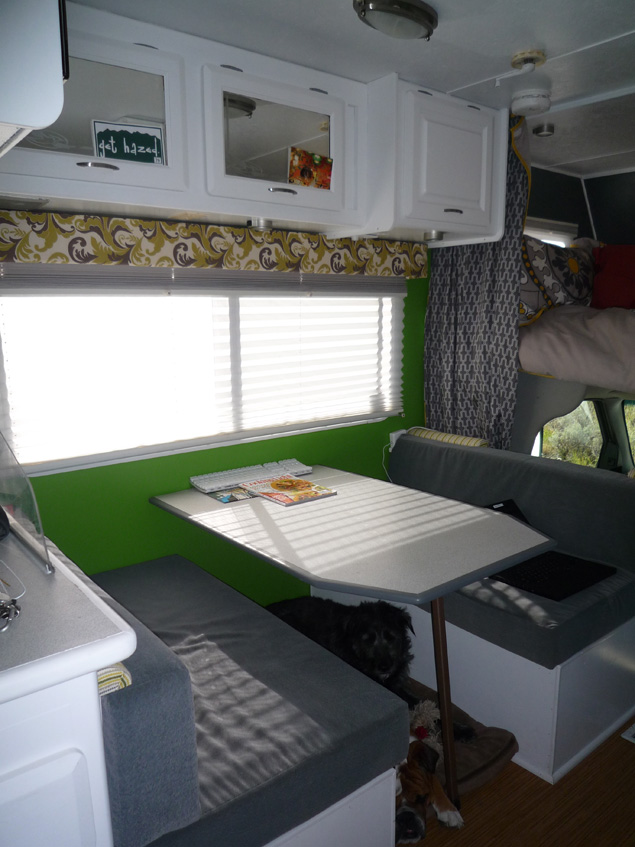 Stanley the RV is new and modern